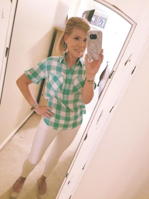gingham on me
