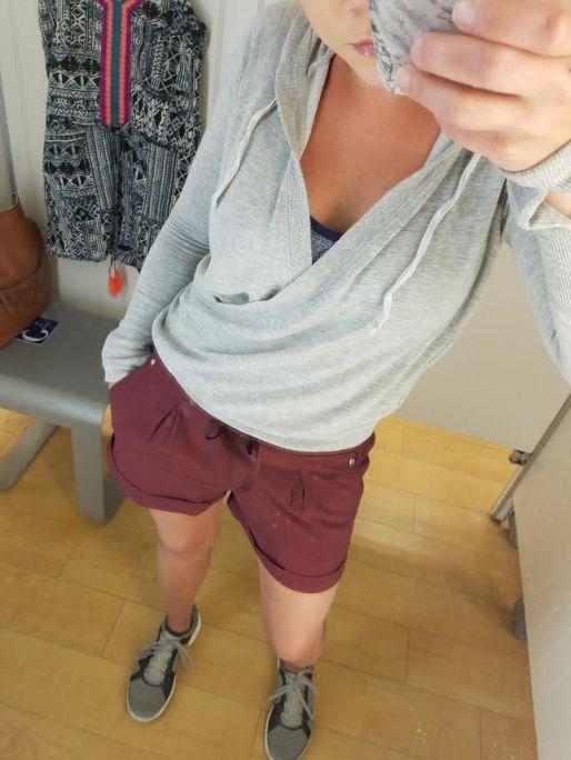 burgundy shorts 5-1