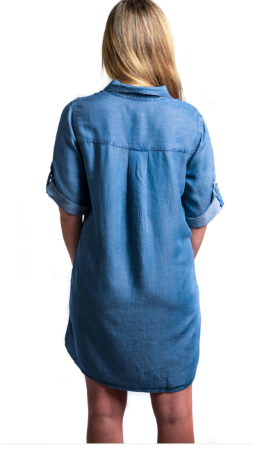 denim popover back