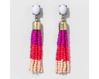 target tassle earrings