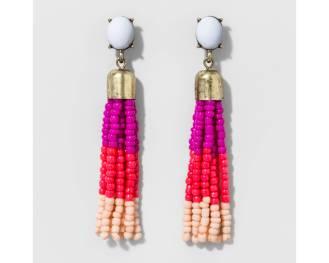 target tassle earrings