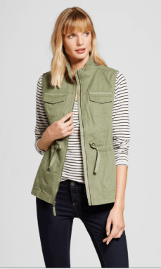 Merona from Target military vest - $29.99