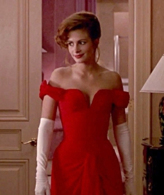 pretty woman dress