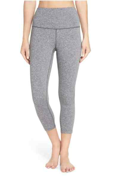 zella grey leggings